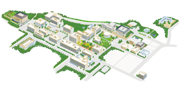 Mid Pacific Institute Campus Map.Campus Map Ritsumeikan University