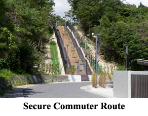 secure commuter route