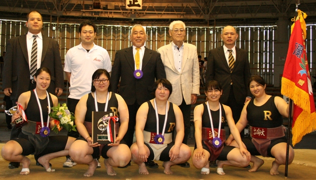 Ritsumeikan Women's Sumo Team