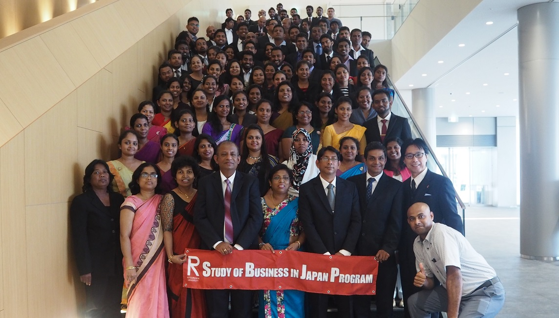 Graduate students from Sri Lanka
