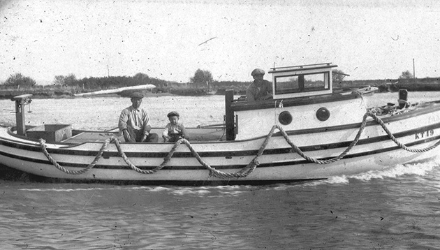 Japanese Migrants Fishing in Pre-war Canada