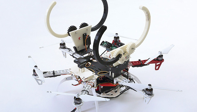 Mechanical Eyes Providing Innovation for Flying Robots