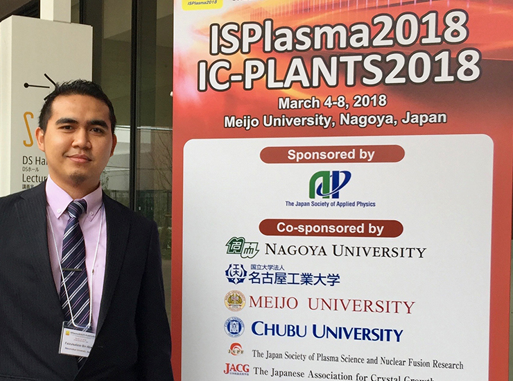 Mr Faizul Salihin Bin Abas at the ISPlasma event