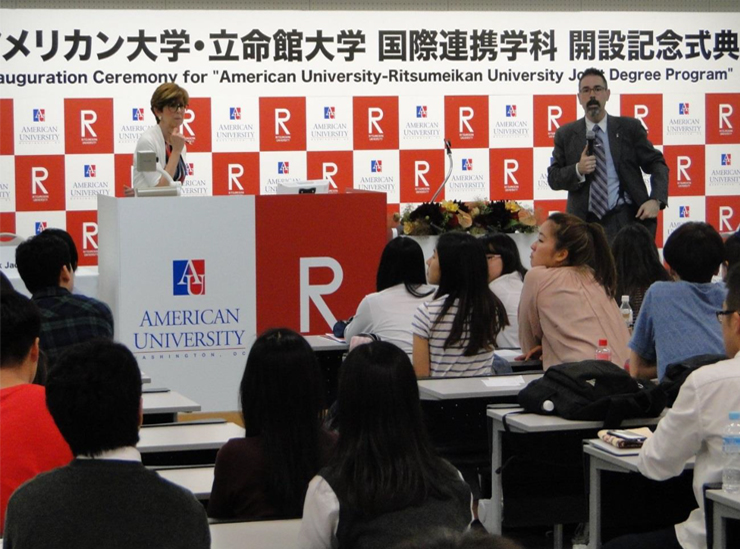 American University's Professor Patrick Jackson and Dr. Rosemary Shinko Guest Lecture at RU