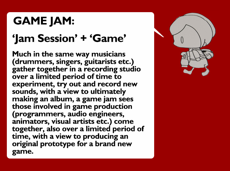 Explanation of a game jam