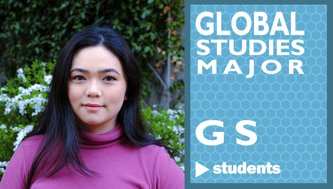 Mari from the USA - a 3rd year undergrad on the Global Studies Major (GS) based at Kinugasa Campus in Kyoto